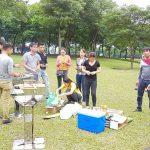 bếp nướng ngoài trời dùng cho 10-20 người ăn